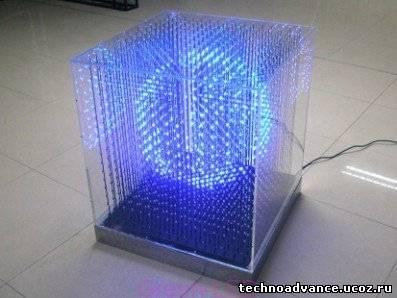 Поделки из светодиодной ленты своими руками 44